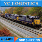 Shipping To China Amazon Fba Rail Freight Shipping To Euro/uk/france/germany/italy/spain By Train By China Shipping Agent Railway Shipping /