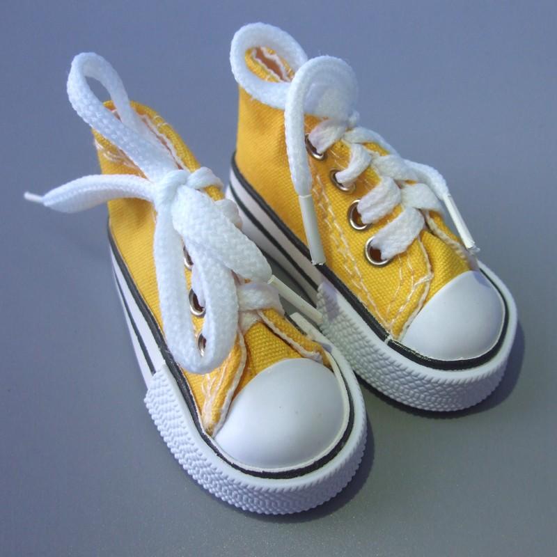 7,5 см кукольная обувь Джинсовая парусиновая мини-игрушка обувь 1/4 Bjd для русской ручной работы текстильная кукла снеговик(Китай)