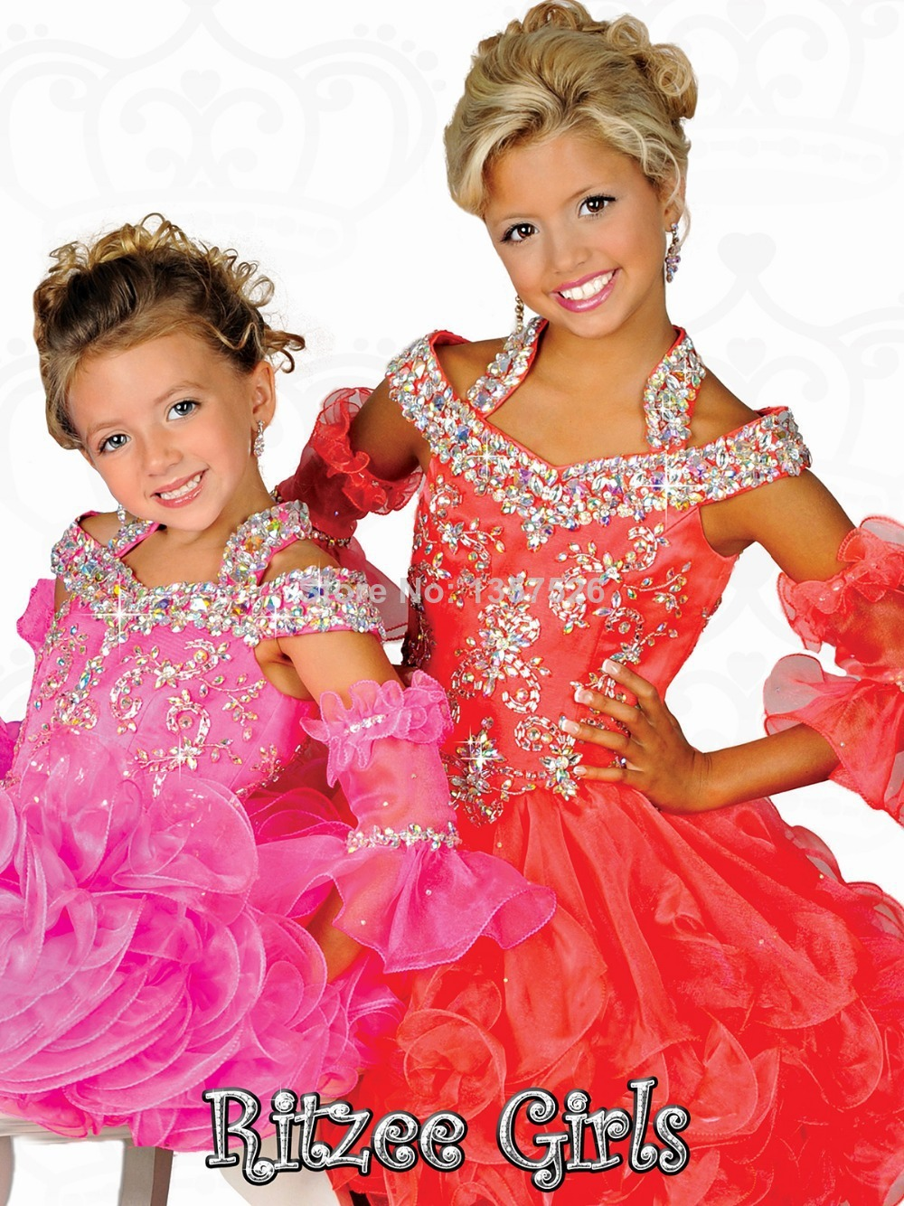 Cupcake Pageant Dress Promotion Shop For Promotional