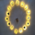 Amazon Hot Selling Wall Hanging Light Plastic Led Hanging Letter Home Party Wedding Decoration