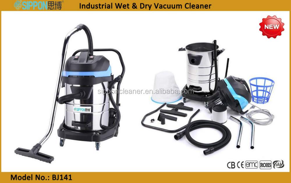Промышленный пылесос для сухой и влажной уборки, 1100-240 В, 3000 Вт