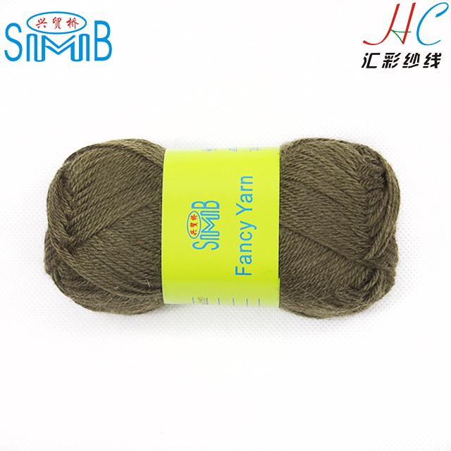 china eco friendly natural yarn manufacturer smb tops selling hand knitting bamboo wool roving yarn