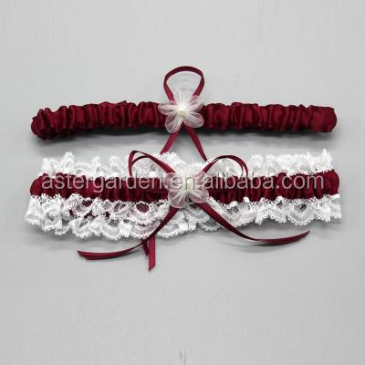 Подвязки для невесты на заказ, свадебные подвязки M8242