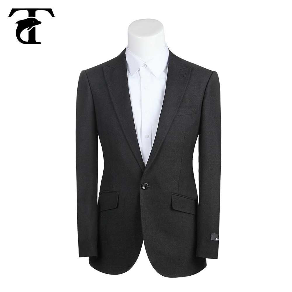 Latest Coat Pant Design Fashion Black Color Korean Style Slim Fit Man Suit  - Buy Slim Fit Man Suit,Korean Style Man Suit,Men Slim Fit Suits Product on