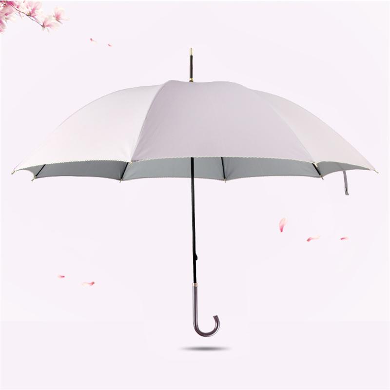 Saiveina зонтик пляжный зонтик женщины зонты дамы дождь винтаж уф зонтик для солнца качества небольшой Крючок ручки
