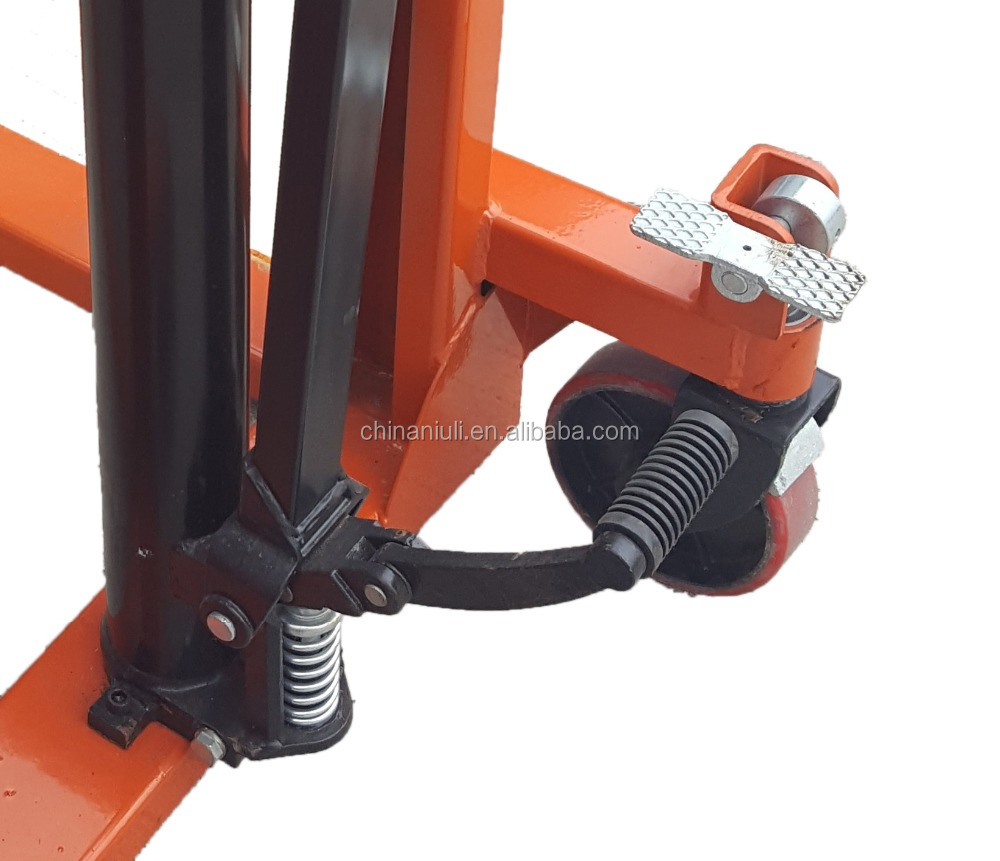 NIULI 1T 2T 3T Wide legs Manual Hand Stacker with CE