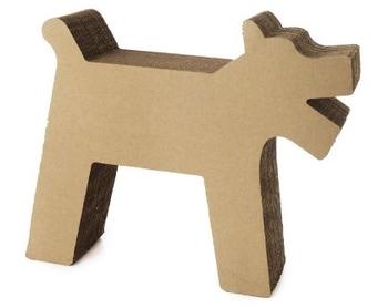 Corrugated Cardboard Cat Bed