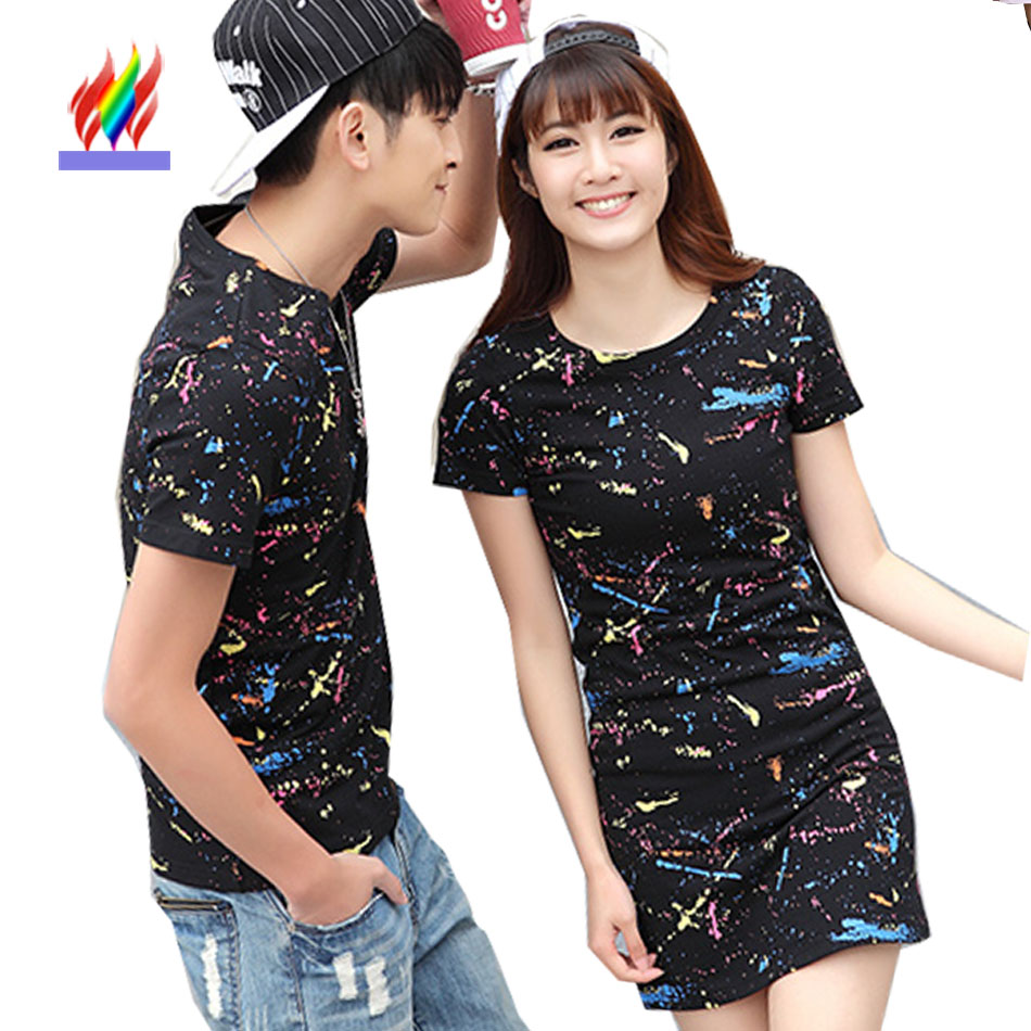 Couple matching clothes