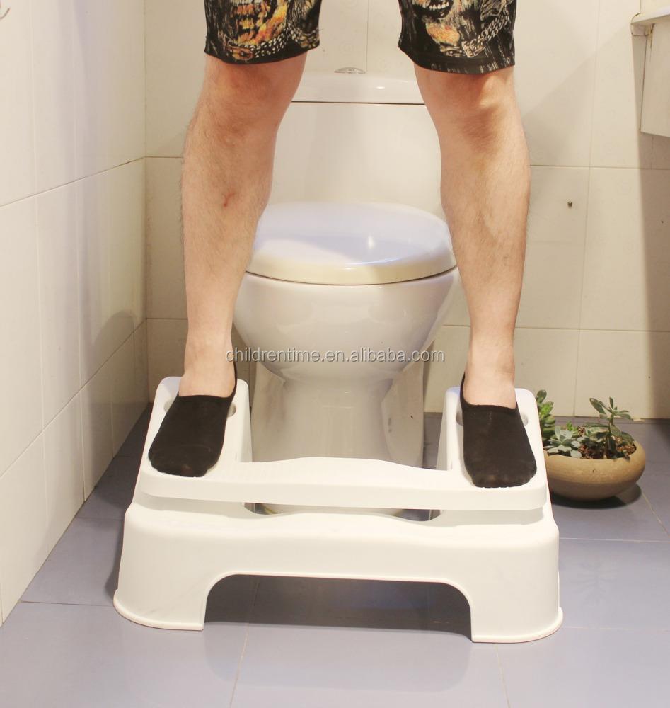 2017 New plastic Poop Stoop Partial-Squat Toilet Foot Stool