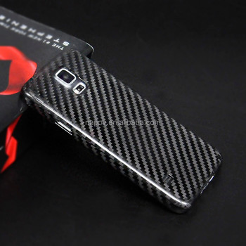 Black Carbon Fiber For Samsung Galaxy S5 Phone Back Cover