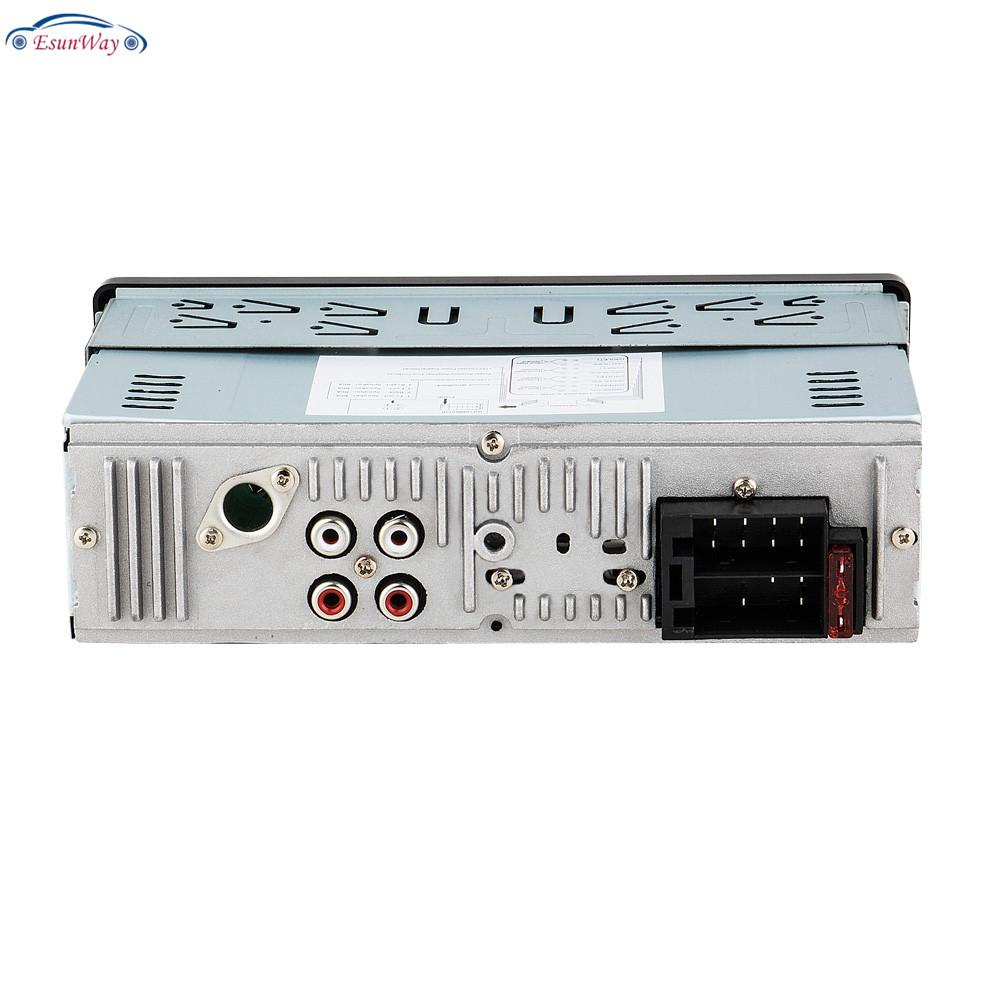 Автомагнитола 1DIN 12 В, стерео-проигрыватель с MP3-плеером, FM-радио, приемником, Aux входом, SD USB, MMC, дистанционным управлением