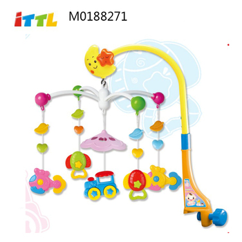 Musical mobile baby bed bell top selling electric baby musical hanging toys