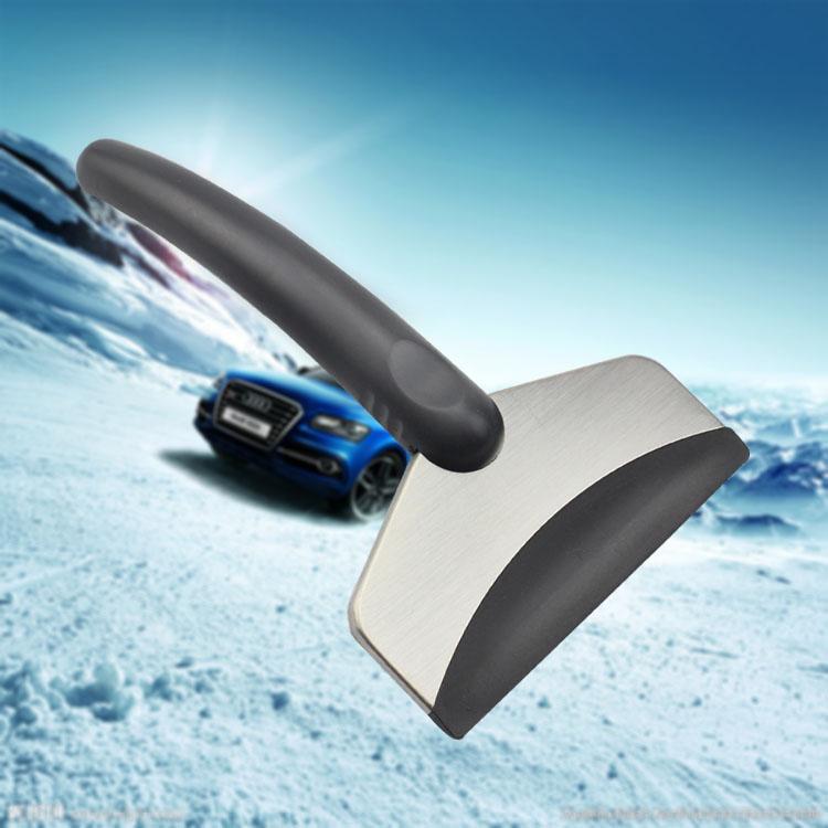 Высококачественный автомобильный скребок для льда из нержавеющей стали, рекламный инструмент для лопаток для снега