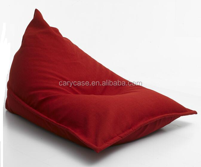 Pivot Adults Bean Bag Red High Back Support Beanbag Chair