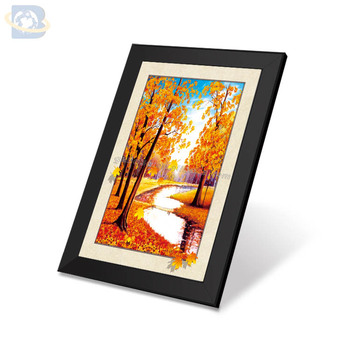 beautiful scenery wall painting,3d scenery photo,botanical picture