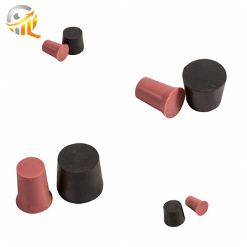 silicone rubber round stopper /plugs/Natural silicone rubber products manufacturer