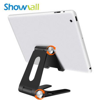 Universal folding up any size of tablet aluminum alloy stand desk holder for iPad air, mini