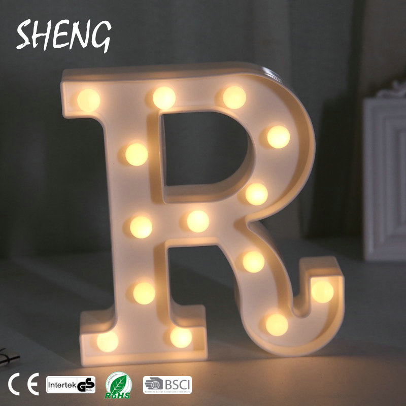 Marquee Sign Alphabet Lamp 26 Letters White Led Night Light For Birthday Wedding Party Bedroom Wall Hanging Decor Buy Led Night Light Marquee Sign Marquee Led Lights Product On Alibaba Com
