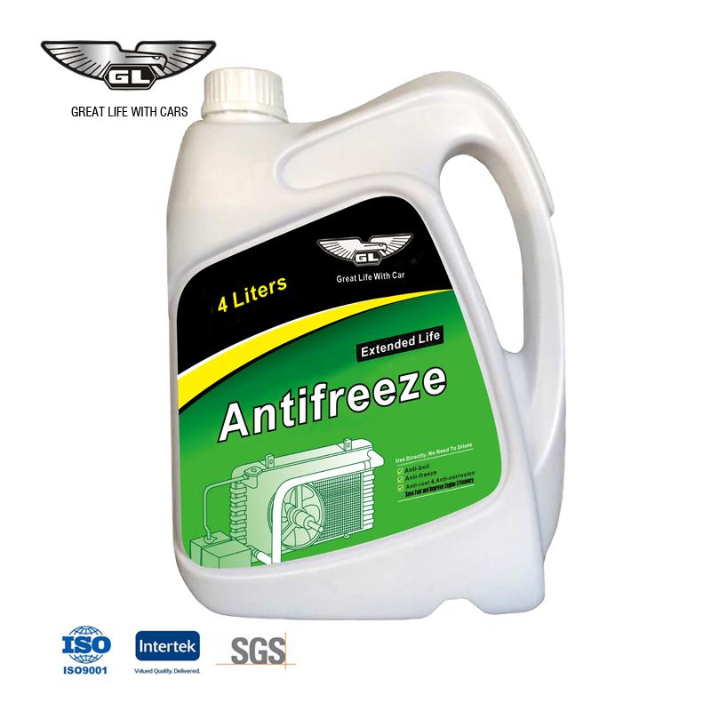 Высокоэффективный недорогой антифриз, охлаждающая жидкость, продленный срок службы, антифриз, 4 л