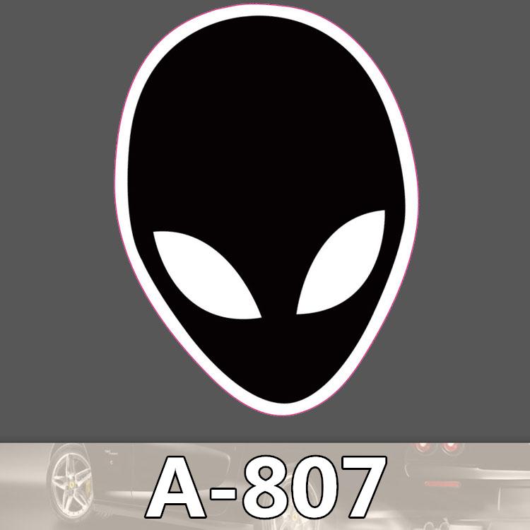 A 807 Ghost Alien Waterproof Fashion Cool DIY Stickers For Laptop Luggage Fridge Skateboard Car Graffiti