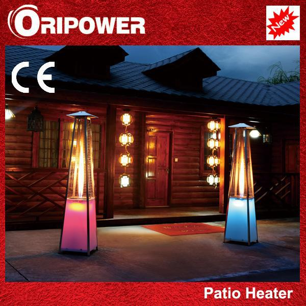 Outdoor heat lamps
