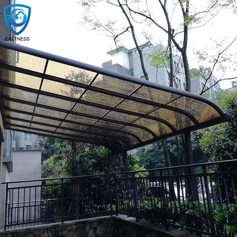 Custom Metal Awning Aluminum Alloy Frame Terrace Canopy