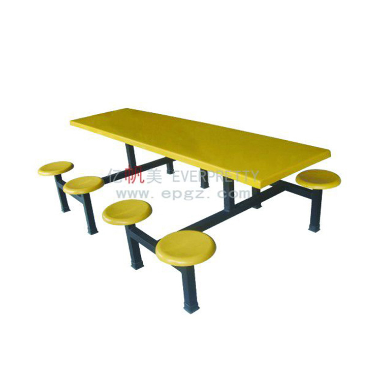 8 Seaters Fiberglass Canteen Dining Table With Stool Buy Fiberglass Canteen Dining Table With Stool Dining Table With Stool 8 Seater Fiberglass Table With Stool Product On Alibaba Com
