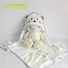 bamboo hooded baby towel bw12 brown ears 90*90cm