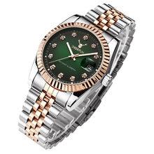 Kobiet zegarka модные rolexable женские часы черные повседневные Кварцевые водонепроницаемые наручные часы с бриллиантами розовое золото Reloj Mujer Часы(Китай)