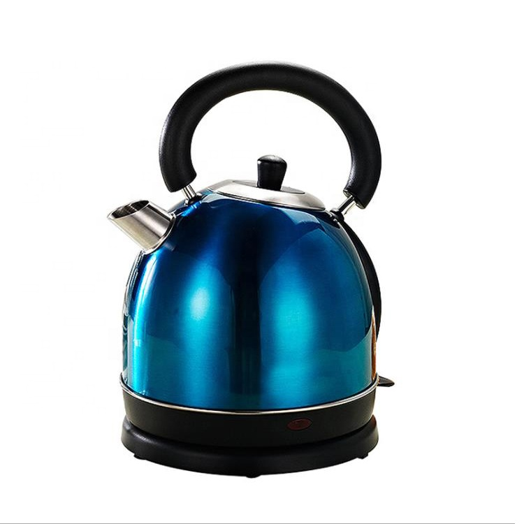 Colored parts switch 304 SS kitchen appliances electric kettle bases