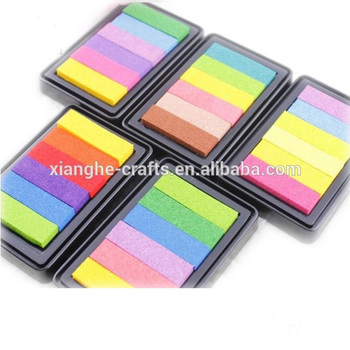Non-Toxic eco friendly baby ink stamp pad for school children