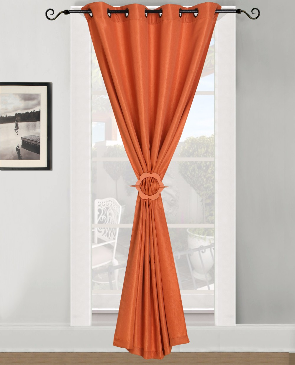 Add Style Energy Efficiency And A Touch Of Color To Any Room With This Elegant Curtain PanelComfortable Texture Meets Soft