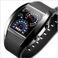 Luxusné pánske digitálne LED hodinky so silikonovým remienkom z Aliexpress
