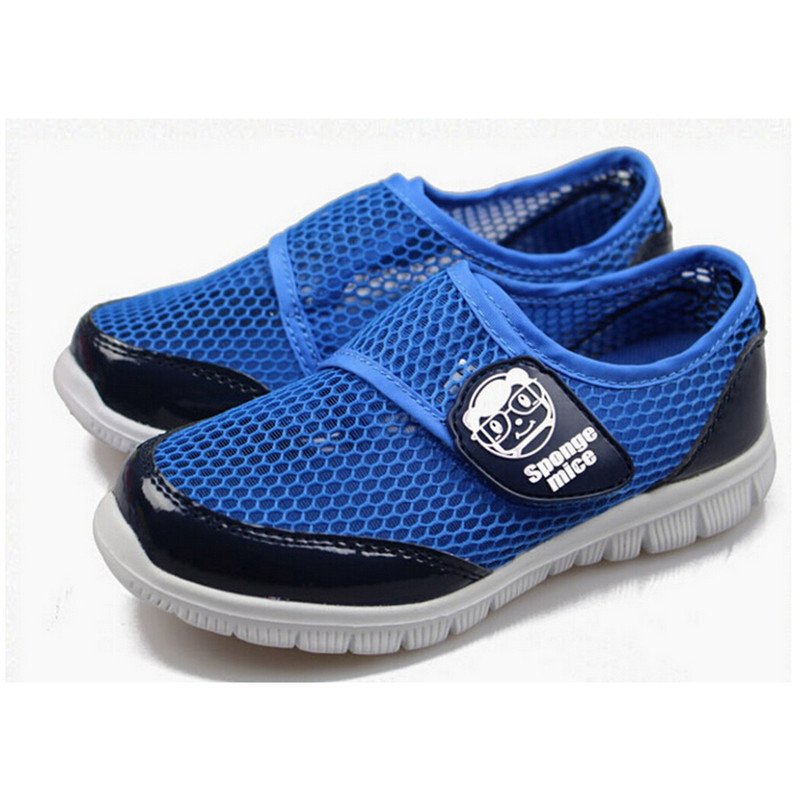 New 2016 Spring Children Shoes Boys Girls Gauze Breathable Sneakers Kids Shoes Shoes for kids size 8 9 10 11 11.5 12.5 13.5 1 2