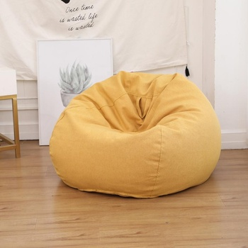 Visi Indoor Furniture Adult Seat Pouf Sitzsack Relaxing Watching Big Bean Bag Chair Sofa