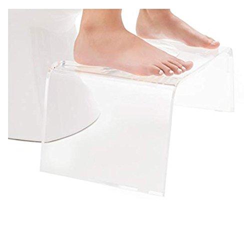 Custom Clear Squatty Acrylic Toilet Step Stool Plastic Bathroom Stool Buy Clear Acrylic Toilet Stool Bathroom Stool Step Stool Product On Alibaba Com