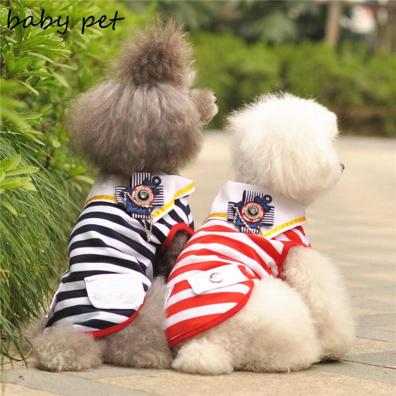100% Хлопок костюмы для кошек Одежда Для Собак Рубашка ogs одежды и аксессуаров для Пудель Чихуахуа Одежда Бесплатная Доставка