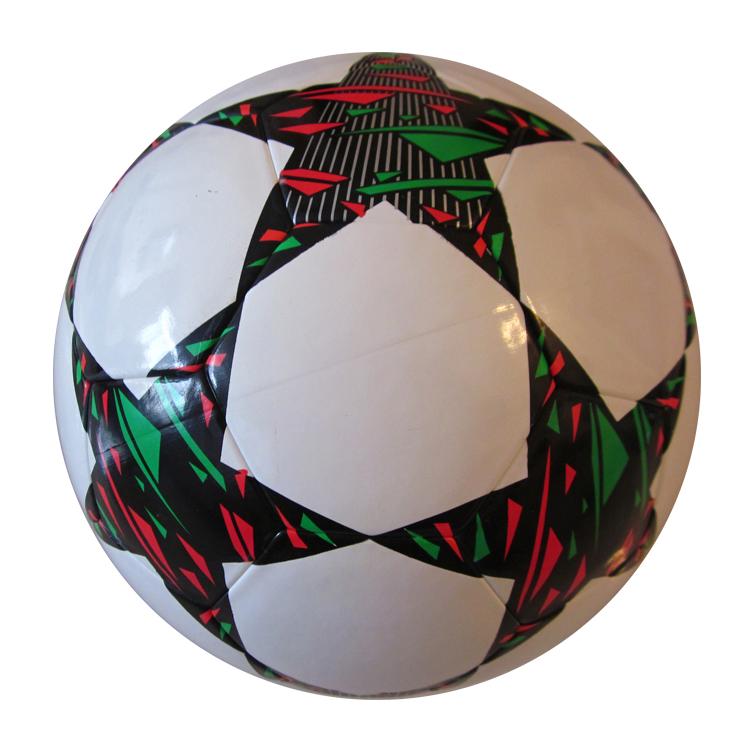 Спортивные товары, Спорт на открытом воздухе, рекламный сшитый ПВХ Pu футбольный мяч, спортивный футбольный мяч