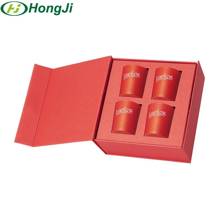 Роскошная коробка для упаковки свечей, жесткая коробка для свечей, Подарочная коробка для свечей