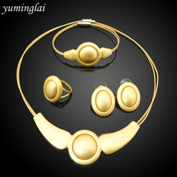 24k Gold Plated Jewelry Indian Bridal Jewelry Sets Fashion Jewellery