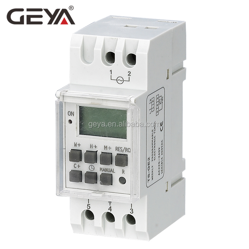 GEYA THC 811 16A 20A 30A programmable digital electronic timer