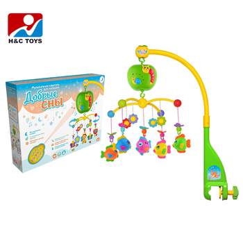 baby toy kid toy China wholesale funny baby toys musical mobile baby bed bell for sale HC363960