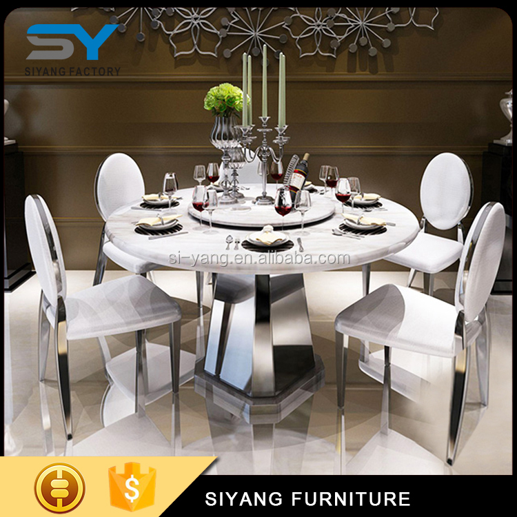 6 Seater Dining Table Set Marble Top Round Dining Table With Rotating Centre Ct016 Buy Round Dining Table With Rotating Centre Marble Tables 6 Seater Dining Table Set Product On Alibaba Com