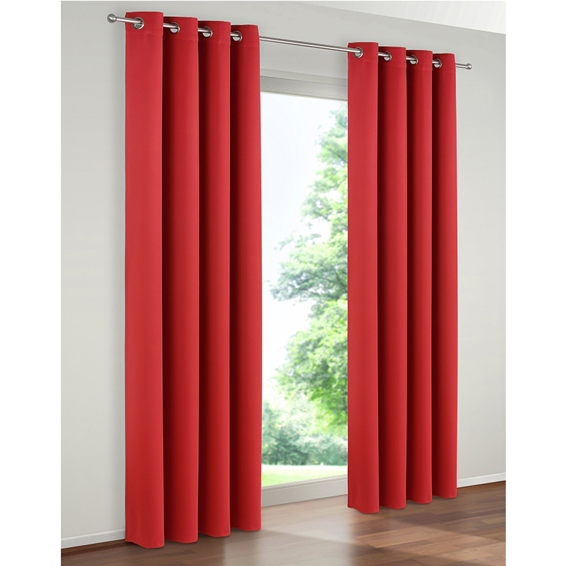 window eyelet blackout curtains and solid color lightout living room window curtain