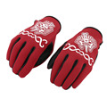 1 Pair Pharaoh Pattern Man Woman Cycling Gloves Outdoor Sports Motorcycle Equipment Racing Windproof Warm Gloves