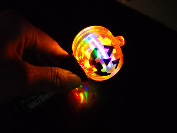 Factory Hot Led Light Up Pumpkin Spinner Toy Spinning Ball