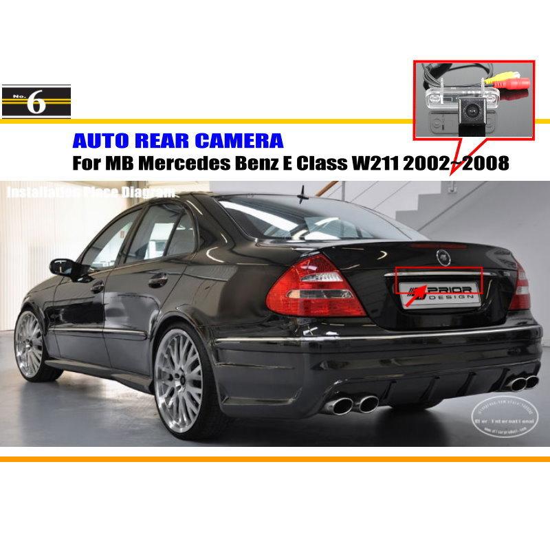 Car Camera For Mercedes Benz E Class W211 2002~2008 / Rear
