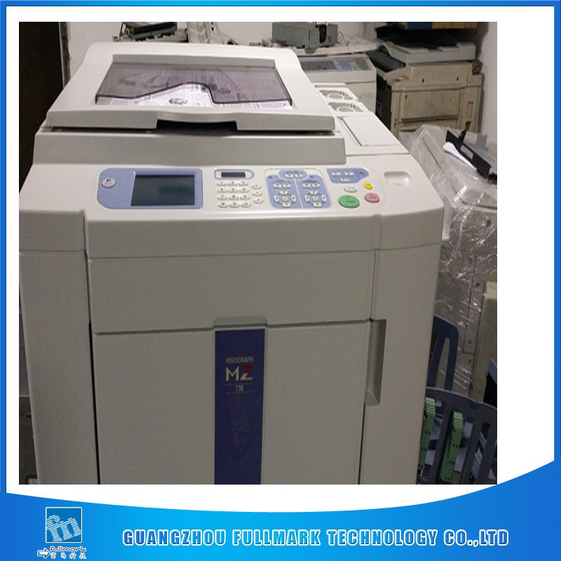 used risos digital duplicator MD5650 two color A3 printer risographs printing machine