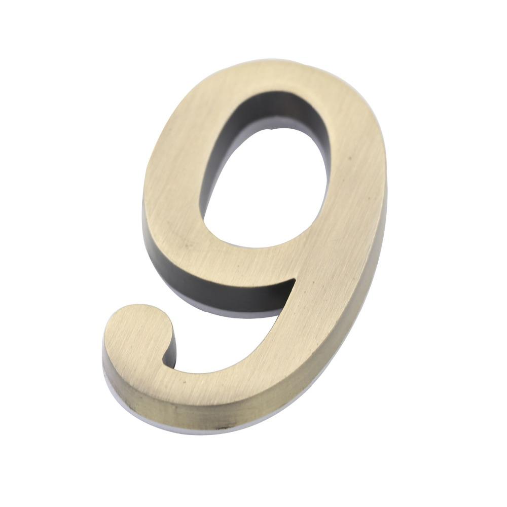 Online Buy Wholesale Apartment Door Number Plate From