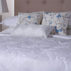 Top quality hotel double terry toweling bed sheets